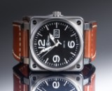 Bell & Ross, model BR01-96, oversize herrearmbåndsur