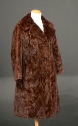 Pelsfrakke af mink