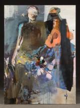 Anni Runte, o.T.,acrylic on canvas