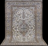 Carpet, pale Keshan, Persia, 347 x 230