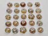 25 Charlotte Borgen Beads - brun