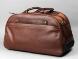 Apples. Skulder/rejsetaske i brunt læder
