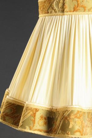 stehlampe mit gro em lampenschirm regulierbar. Black Bedroom Furniture Sets. Home Design Ideas