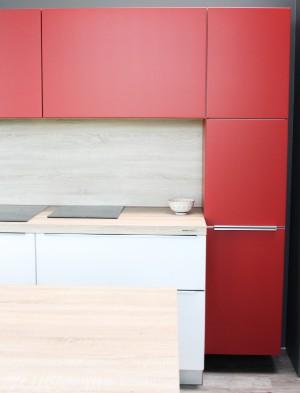 Vollständige Kücheneinrichtung von Nolte Küchen. Küche 15 mit Geräte ...
