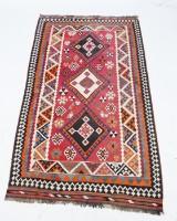 Kelim, Ghashghai, Persien. 294 x 161 cm