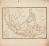 Brué's map of Indonesia 1826