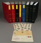Danmark. Samling frimærker 1851-2004 (7)