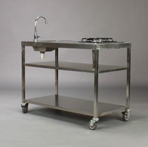Vare: 3094742 Udendørs køkken med gasblus og vask