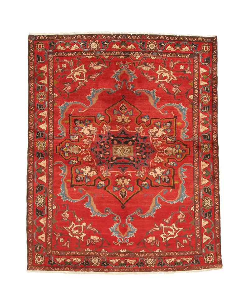 Persisk Bakhtiari 196 x 156 cm - Persisk Bakhtiari 196 x 156 cm. Håndknyttet uld på bomuld