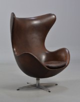 Arne Jacobsen. 'The Egg', lounge chair, model 3316