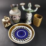 Lot diverse keramik (5)