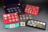 Samling af mønter, amerikanske sølvmønter (2)