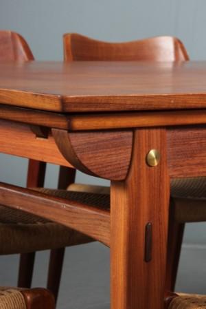 Vare: 3044694 niels o. møller: seks stole af teaktræ, model 71 ...
