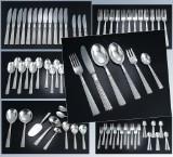 J.H. Quistgaard for O.V. Mogensen. 'Champagne' cutlery in silver (79)