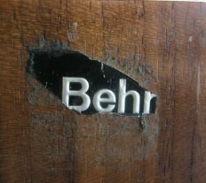 Dieter waeckerlin sideboard model b40 for behr for Behr wendlingen
