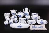 Kgl. Blå Blomst, dele til kaffeservice, porcelæn (39)