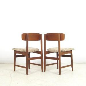 set st hle der 1950 60er jahre mit schichtholzr ckenlehne in teak 4. Black Bedroom Furniture Sets. Home Design Ideas