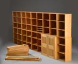 Mogens Koch.Bookcase modules and cabinet in oak (15)