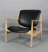 Finn Juhl. Easy chair, model FJ 136, 'France Chair'