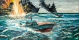 Vladimir Nikolaevich Lobanov, Gefecht auf See