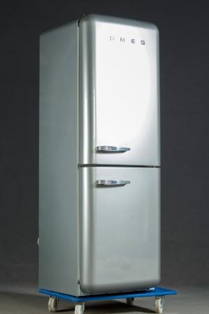 SMEG Kühlschrank, amerikanisches Modell, grau | Lauritz.com