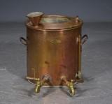 Kaffemaskine af kobber, antagelig ca.1900