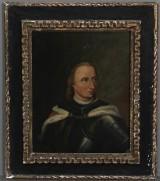 Målning, olja på duk, 1700-tal, porträtt av Christian I