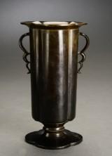 Just Andersen. Vase, bronze. Dessin B 50