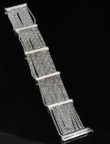 Diamond bracelet in 18k approx. 0.78ct