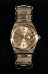Rolex Oyster Perpetual 'Date'. Vintage Herrenuhr aus Gelbgold