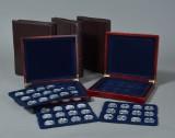 Samling H. C. Andersens eventyr 200 års jubi 1805-2005 medaljer af sterlingsølv fra Mønthuset Danmark (50)