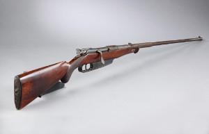 Mauser gevær M1888 omdannet til jagt