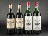 4 flasker Bordeaux, Pontet Canet og Batailley (4)
