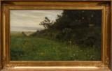 Carl Holsøe, Landschaft bei Kobæk, Öl auf Leinwand