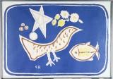 Georges Braque, färglitografiskt tryck efter
