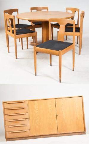 slutpris f r wk m bel runder esstisch ausziehbar. Black Bedroom Furniture Sets. Home Design Ideas
