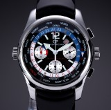 Girard Perregaux 'BMW Oracle Americas Cup'. Men's watch, steel with original strap and clasp, 2000s