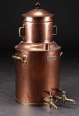 Oluf Brønnum & Co. Kobber kaffemaskine