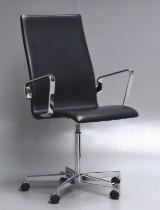 Arne Jacobsen. Oxford chair, model 3273, Red Label