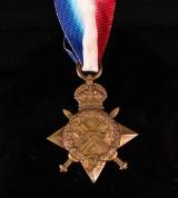 Medalj, WWI, Star, Storbritannien