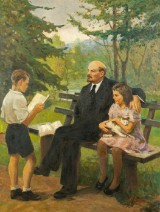 Aleksej Evdokimovich Sidorov, Lenin and the Children