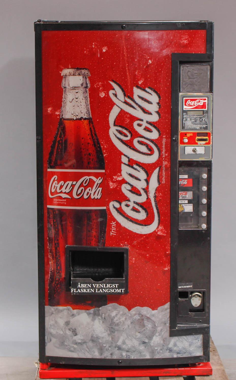 Coca Cola automat. | Lauritz.com