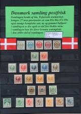 Danmark samling postfrisk.