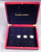 England, Italien og Frankrig guldmønter (3)