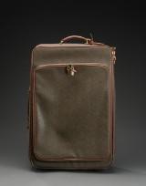 Mulberry, trolley kuffert af mærkegrønt scotchgrain