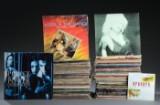 Samling vinylplader, overvejende rock og pop 80'erne (ca. 175)