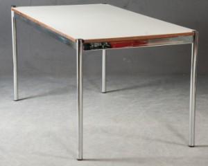 fritz haller paul sch rer tisch schreibtisch konferenztisch f r usm haller. Black Bedroom Furniture Sets. Home Design Ideas