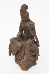 Skulptur 'Shiva', Kunststein