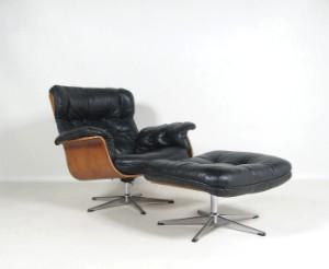 m bel schichtholz lounge sessel der 1960 70er jahre ottomane 2 de. Black Bedroom Furniture Sets. Home Design Ideas