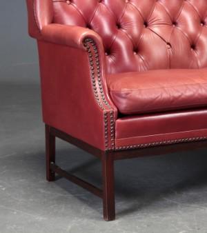 Stil Sofas høj to pers sofa i chesterfield stil lauritz com